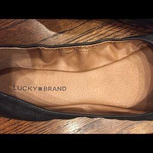 Lucky brand Emmie Ballet Flats Size 12